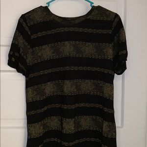 Lucky Brand Metallic T-shirt